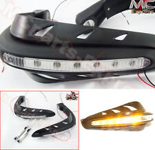 Motorcycle LED Universal Hand Guards Protectors for Yamaha V-MAX FZ6 FZ1 FAZER