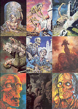 BERNIE WRIGHTSON SER 1 1993 COMIC IMAGES BASE CARD SET OF 90 & SUBSET OF 45 FA