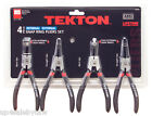 Internal / External Snap Ring Pliers Set, 4-Piece TEKTON 3576
