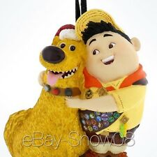 Dug & Russell Form Movie Up Pixar Disney 3D Ornament Disney Park New