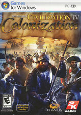 Civilization IV 4 COLONIZATION New World Sim PC Game - US Version - NEW in BOX!