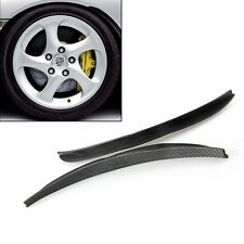 Universal Body Kits Fender Flares Wheel LIP Black 2 Pcs Car&Truck Part Small