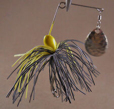 Bass Fishing Lure Spinnerbait DR Double Hook Single Spin (DHS-01)