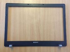 Sony VGN-BZ VGN-BZ11MN PCG-9Z1M LCD Screen Surround Bezel 3GTW1LBN010 (NO WEBCAM