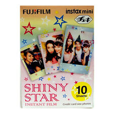 Fuji INSTAX mini / Polaroid 300  SHINY STAR Instant Film - Free UK Delivery