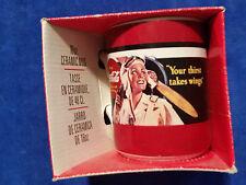 Coca Cola 16oz Ceramic Coffee Mug - Aviator - Coke