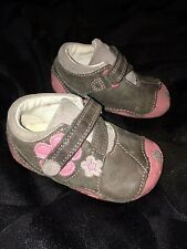 childrens clarks size 3F pre walkers and 3.5G first shoes