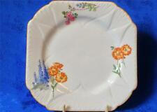 Shelley Bone China Replacement Porcelain Tea Plate. Hollyhocks Pattern 2152.