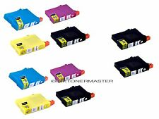 10 INK FOR EPSON 125 T125 STYLUS NX125 NX230 NX420 NX625 WORKFORCE 320 NON-OEM