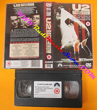 VHS U2 Rattle and hum 1988 CIC VIDEO UK VHR 2308 BONO VOX no cd lp dvd mc (VM10)
