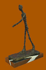 Large bronze statues-running man-Giacometti-39 cm-Masterpieces HotCast Sculpture