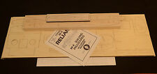 "ROYAL 1/6 Scale STINSON RELIANT SR-8 Laser Cut Short Kit, Plans & Instr. 84.3""WS"