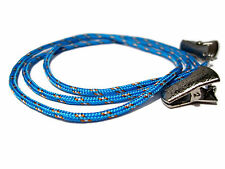 Bright Blue Paracord Eyeglass Holder, Blue Eyeglass Cord, Holder for Glasses 309