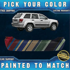 New Painted to Match- Rear Bumper Cover For 2005-2010 Jeep Grand Cherokee Laredo
