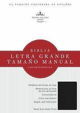 RVR 1960 Biblia Letra Grande Tamaño Manual, Negro Imitación Piel (2014,...