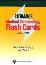 Medical Terminology by Stedman Staff (2004, CD-ROM) Educational CD
