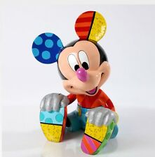 ROMERO BRITTO LARGE LIMITED EDITION  MICKEY MOUSE STATUE 15 INCHES RETIRED