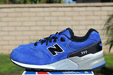 NEW BALANCE 999 ELITE EDITION 11.5 BLUE BLACK GREY SUEDE URBAN SKY ML999BE