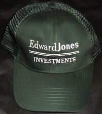 Edward Jones Investments Green Snap Back Trucker Baseball Cap