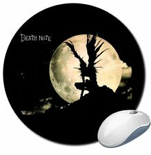 ALFOMBRILLA RATON 6MM DEATH NOTE MANGA ANIME RYUK MOUSE PAD SIL DAd008