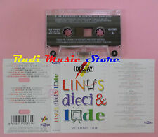 MC LINUS dieci & lode volume due 2 JAMES BROWN MARVIN GAYE D.B.(*) cd lp dvd vhs