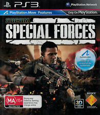 SOCOM: Special Forces, Sony Playstation 3 game, PS3, USED