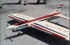 "Model Airplane Plans (UC): All-AMERICAN EAGLE 56""ws Stunt for .35 by Dave Gierke"