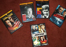 Jack Ryan Collection DVDs Hunt for Red October Patriot Games Sum of All Fears