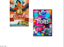 2 DVD-SET Elena and the Secret of Avalor (2017) & Trolls (2016)MOVIE -NEW