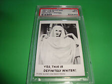 "1964 THE MUNSTERS card  #52  ""...definetely whiter..""  psa 7 (859)"