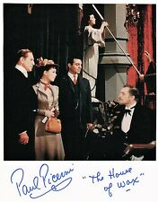OFFICIAL WEBSITE Paul Picerni (1922-2011) House of Wax 8x10 Photo AUTOGRAPHED