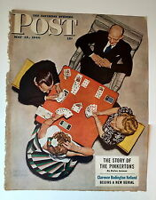 Authentic May 15, 1948 Saturday Evening Post Cover Norman Rockwell