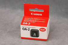CANON OA-2 OFF-CAMERA SHOE ADAPTER - (CZ2-2831)
