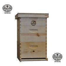 Complete 3 tier Beginners Bee Hive Kit - GL3STACK