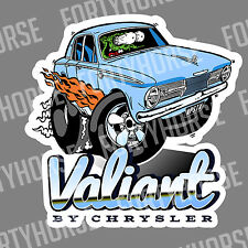 Muscle Car Vinyl Stickers - Valiant AP6