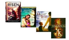 Risen, War Room, Miracles from Heaven & Heaven is for Real, Set of 4 DVDs, Drama