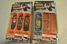 Hexbug Tony Hawk Circuit Boards Series Lot of 2 - Railslide & 3 Skateboards New