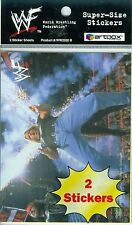1999 World Wrestling Federation 99 WWF SuperSize 2 Sticker Sheets Artbox Kane