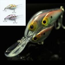 Sports Fishing Lure Crankbait Shoal Group Fish Wobbler Long Shot Casting Bait