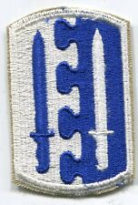 WWII WW2 US Army 2nd Airborne Infantry Brigade Patch Cut Edge