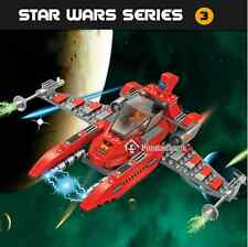 Red X-Wing Fighter Building Blocks Toy Star Wars Toys