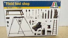 Field Shop Tools Italeri Plastic Model 1/35 Scale #419 Factory Sealed