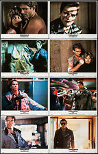 "Posters The Terminator 1984 8 Lobby Cards 11""x14"" NM 9.0 Arnold Schwarzenegger"