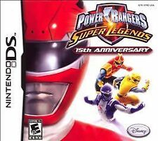 Power Rangers Super Legends - 15th Anniversary (Nintendo DS, 2007) GAME ONLY