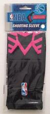 NEW Baller NBA Basketball SHOOTING ARM SLEEVE Band * BLACK w/ HOT PINK Design
