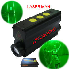 Dual Direction 532nm Green Laser Sword for laser man show (double-headed laser)