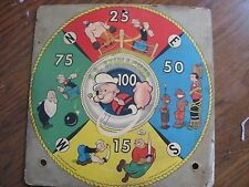 Game Board-Popeye-S. S. Spinacher-1958-King features-Transogram Co.-