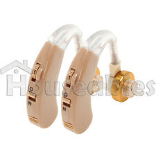 A Pair of New Behind the Hear Digital Hearing Aid Aids Personal Sound Amplifier