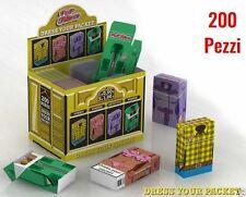 Copri Pacchetto di Sigarette POP FILTERS in Cartoncino porta pacchetto 200 pz