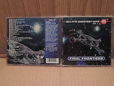 SCI-FI'S GREATEST HITS VOL. 1 CD FINAL FRONTIERS STAR TREK LAND OF THE GIANTS ++